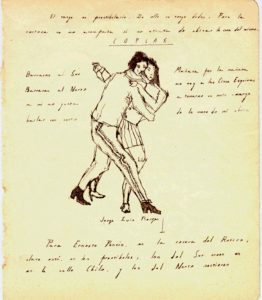 طراحی رقص تانگو-بورخس